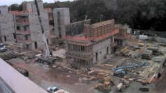 Frick Chemistry Laboratory Under Construction - Concrete Work - March 2009