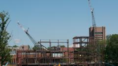 Peretsman Scully Hall/Princeton Neuroscience Institute Under Construction