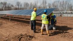 Solar Collector Field Construction
