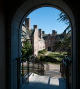 Brown Hall New Portal (View of Cuyler Hall)