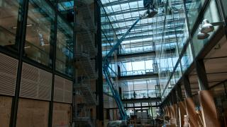 Frick Chemistry Laboratory Under Construction