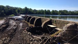 Lake Carnegie Dam Repair and Maintenance