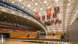 Jadwin Gym LED Lighting