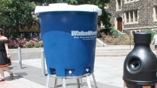 Very large water station