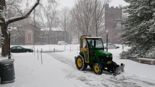 Snow Removal Near Nassau Hall