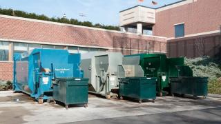 waste container sites