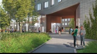New Residential Colleges - College 7 Portal View (in)