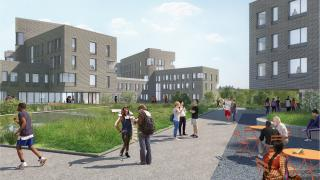 New Residential Colleges - College 7 Portal View (out)