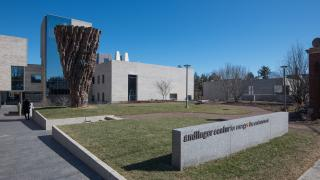 andlinger center for Energy and the Environment and sculpture