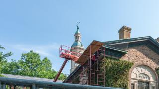 Nassau Hall Roof Replacement and Cupola Restoration