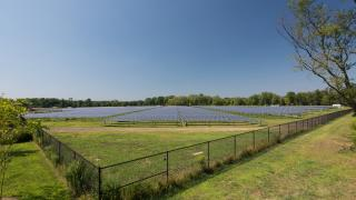 Solar Collector Field in West Windsor