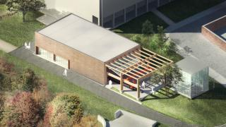 new architecture lab rendering
